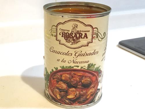エスカルゴ缶